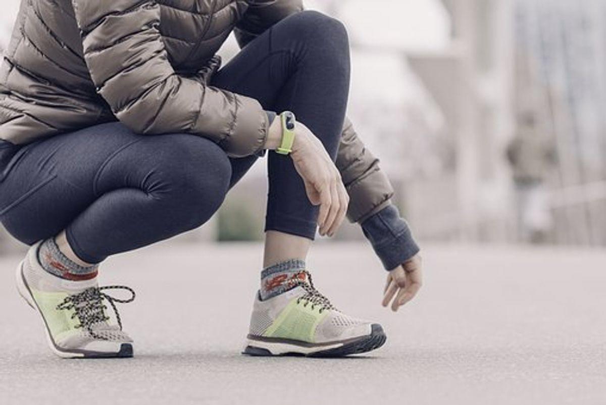 Fitness Tracker With Strava